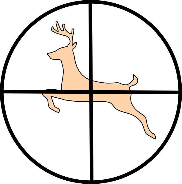 Image De Art Deer And Drawing: Hunting Deer Clip Art At Clker.com