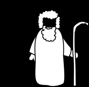 Black And White Shepherd Clip Art at Clker.com - vector ...