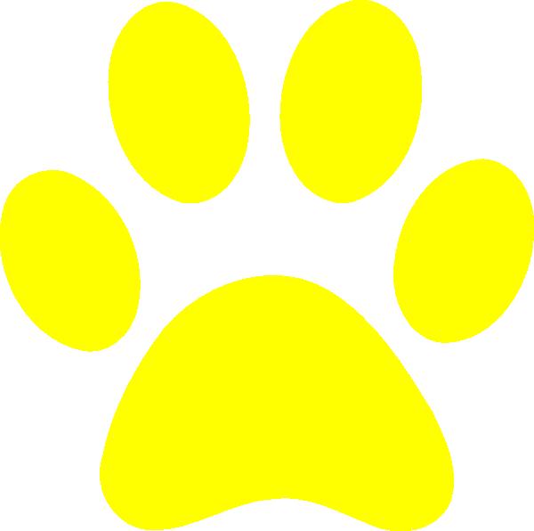 Blues Clues Yellow Paw Clip Art at Clker.com - vector clip ...