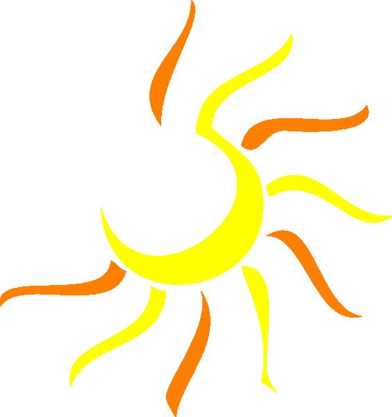 Line Drawing Sun Vector : Sun clip art at clker vector online