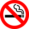 Do Not Smoke Clip Art