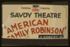 American Family Robinson  A Comedy In Three Acts By George Savage : A Sizzling Fun-filled Comedy Of Family Life And Strife. Clip Art