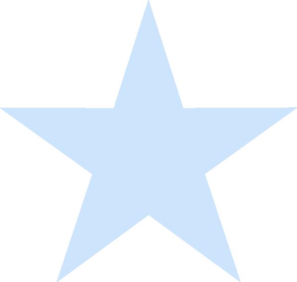 Light Blue Star Clip Art at Clker.com - vector clip art ...