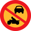 No Motorbikes Or Cars Clip Art