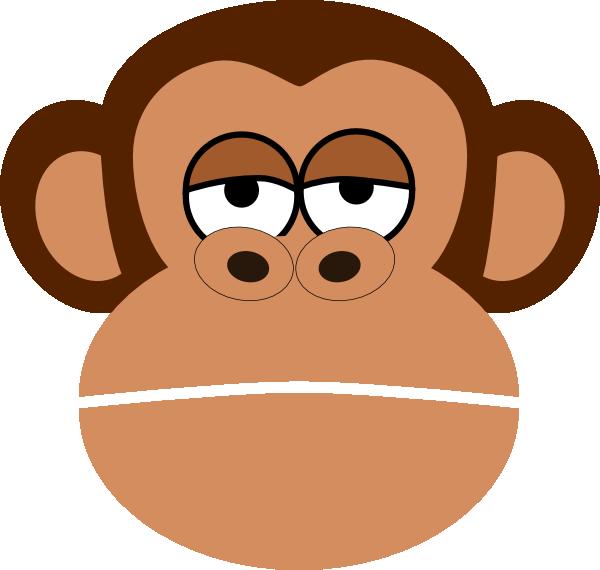 monkey cartoon face clip art at clker com vector clip monkey face clip art printable sock monkey face clip art