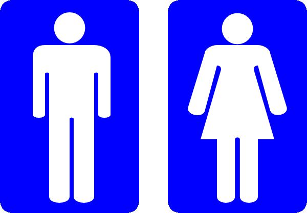 restroom man and woman clip art at clker - vector clip art