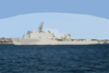 Uss Rushmore (lsd 47) Steams Out Of San Diego Bay As She Departs On A Scheduled Six-month Deployment. Clip Art