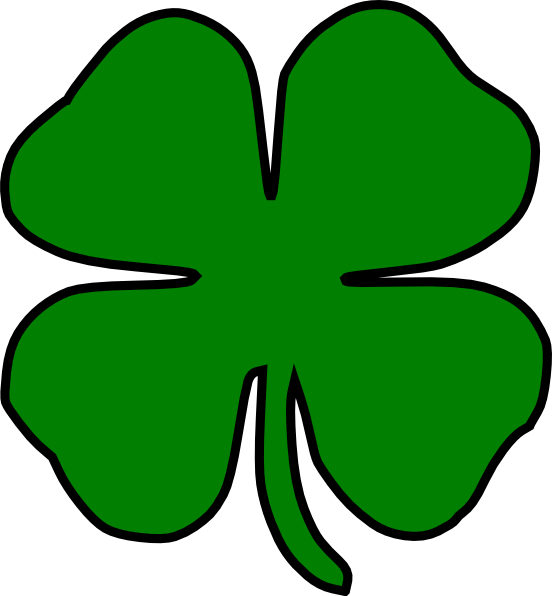 clover clip art at clker com vector clip art online free shamrock clipart free shamrock clipart black and white