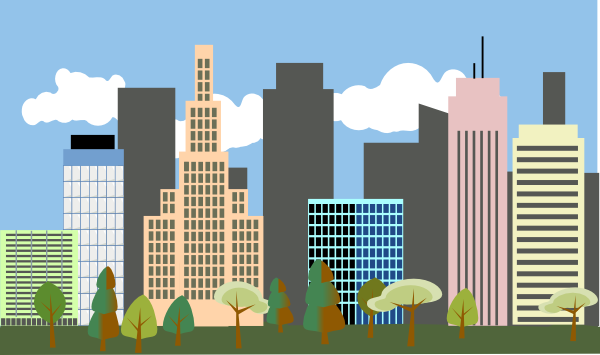 City-skyline Clip Art at Clker.com - vector clip art ...