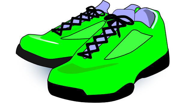 Forest Green Tennis Shoes