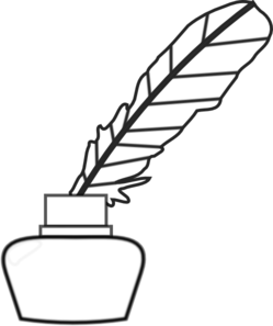Nib Bico De Pena Ca a De Tinta 145703 besides Inkwell in addition Stock Illustration Blank Scroll Quill Pen Inkwell besides 036 Letter Writing Correspondence additionally Stock Vector Ink Hand Drawn Vector Line Border Set And Scribble Design Element. on quill and inkwell