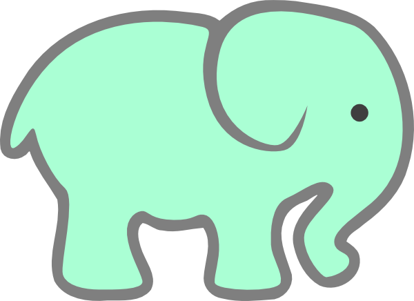 green baby elephant clip art at clker com vector clip penguin clipart to color penguin clipart to color