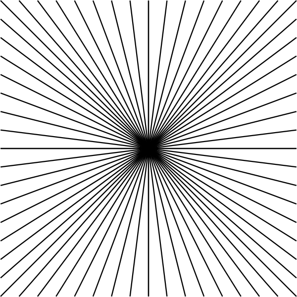 Cool Line Art Designs : Black line star design clip art at clker vector