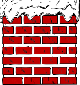 Chimney With Snow Clip Art