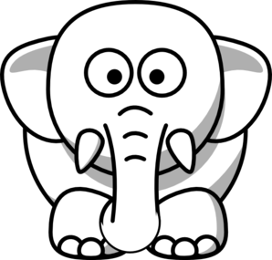 Cartoon Elephant Clip Art Clip Art