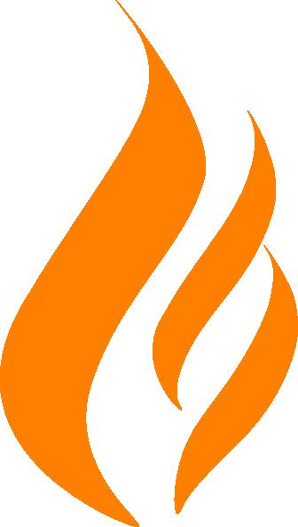 Maron Flame Logo Clip Art at Clker.com - vector clip art ...