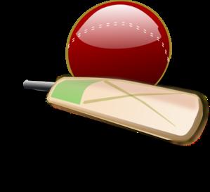 Cricket Bat And Ball Clip Art At Clker Com Vector Clip