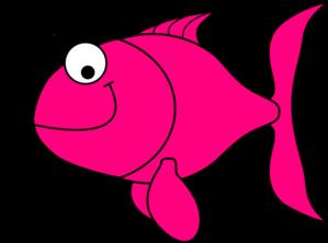 Pink Fish Clip Art at Clker.com - vector clip art online ...