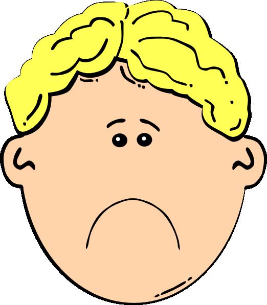 Sad Boy Clip Art At Clkercom - Vector Clip Art Online, Royalty Free  Public Domain-3578