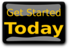 Get Started Today Pitch Black Clip Art