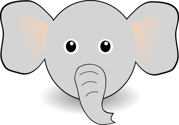 clipart of elephant ears - photo #8