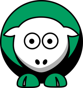Sheep Boston Celtics Team Colors Clip Art