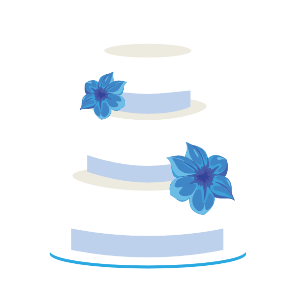 wedding cake clip art at clkercom vector clip art