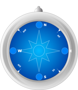 Compass With No Needle Clip Art