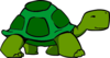 Green Turtle Fixed Clip Art