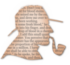 Sherlock Holmes Silouette With Text Clip Art