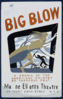 Federal Theatre Presents  Big Blow  A Drama Of The Hurricane Country By Theodore Pratt / Halls. Clip Art
