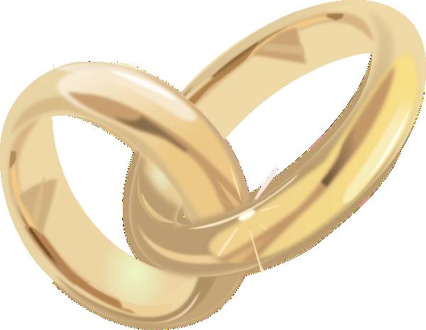Wedding Rings 2 Clip Art at Clker.com - vector clip art ...