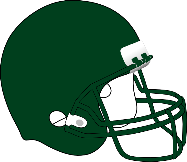 Football Helmet 2 Clip Art at Clker.com - vector clip art ...