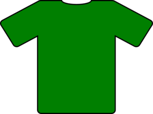 632e7d04 Green T-shirt Clip Art at Clker.com - vector clip art online ...