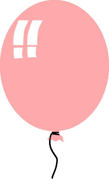 Pink Ballon Clip Art At Clker Com Vector Clip Art Online