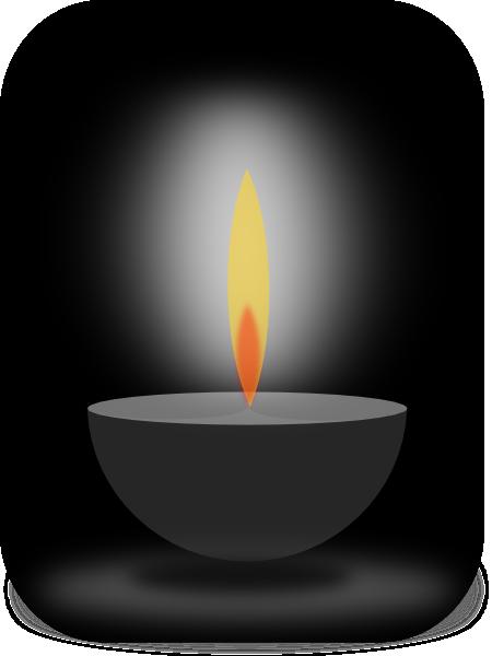 Candle Light Clip Art At Clker Com Vector Clip Art