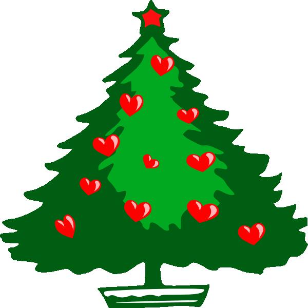 Christmas Hearts Clip Art At Clker Com Vector Clip Art