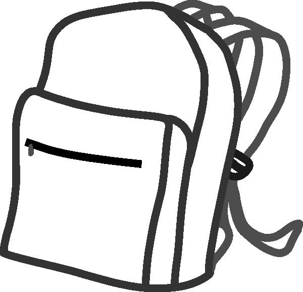 Backpack Clip Art At Clker Com Vector Clip Art Online