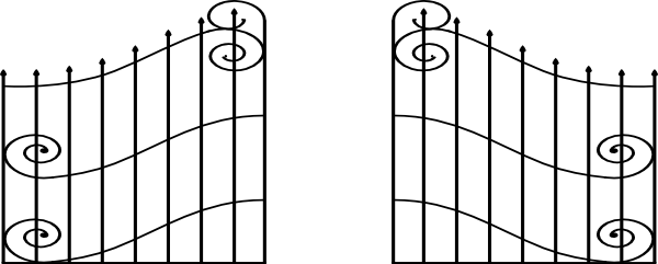 Open gate clip art at clker vector online