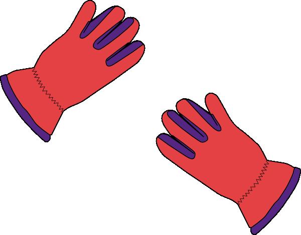 2 Gloves Clip Art at Clker.com - vector clip art online ...