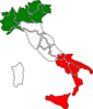 Map Of Italy Clip Art