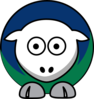 Sheep Vancouver Canucks Team Colors Clip Art