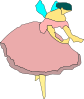 Fairy With Wings Ballerina Clip Art