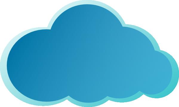 blue cloud clip art at clker com vector clip art online clip art free online cupcake clip art free online