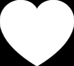 white heart clip art at clker com vector clip art online Science Clip Art Black and White Golden Book Clip Art