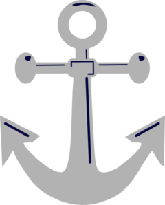 Unfinished Anchor 2 Clip Art