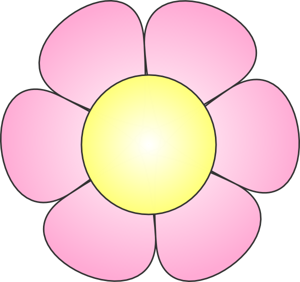 pink daisy clip art at clker com vector clip art online magnolia wreath clipart magnolia clip art free