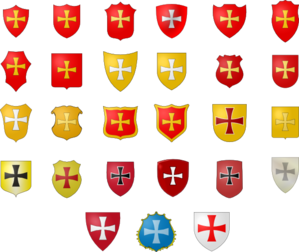 Coat Of Arms Sheilds Clip Art