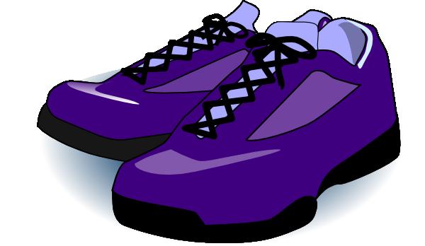 Purple Tennis Shoes