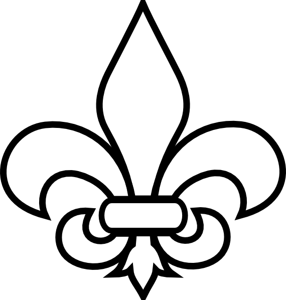 fleur de lis simplified clip art at clker - vector clip art